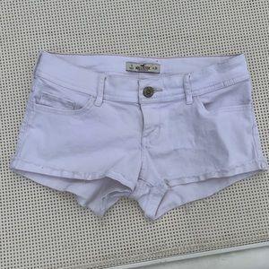 Hollister White Jean Shorts Size 3 Size 26